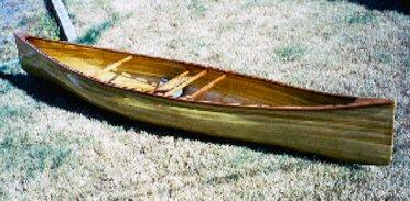 Solo Canoe Plans